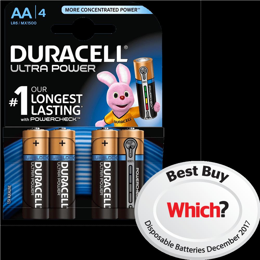 Powercheck technology duracell ultra power alkaline aa batteries nvjuhfo Gallery