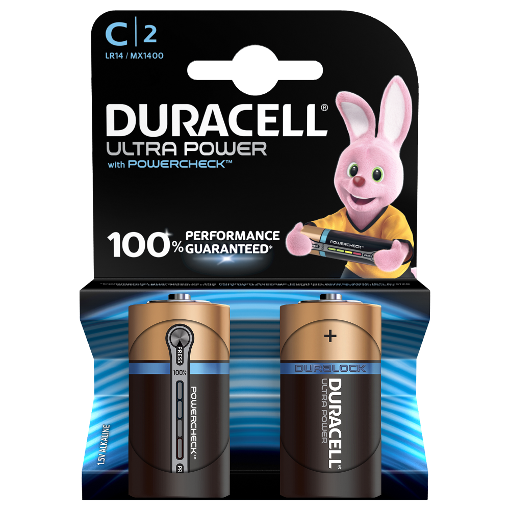 Duracell Alkaline C Batteries Simply Plus Ultra And