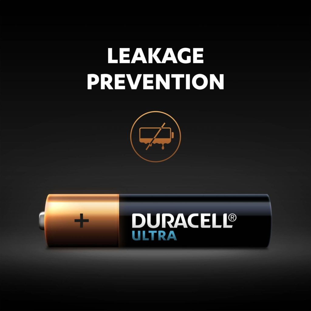 Leakage prevention for Alkaline Ultra AAA sized battery