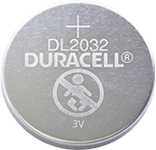 Duracell Lithium coin DL2032 battery