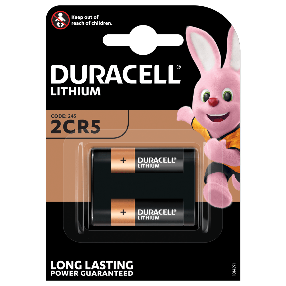 Duracell Specialty Lithium 2CR5 battery