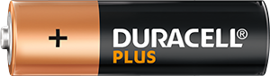 Duracell Plus Type AA battery