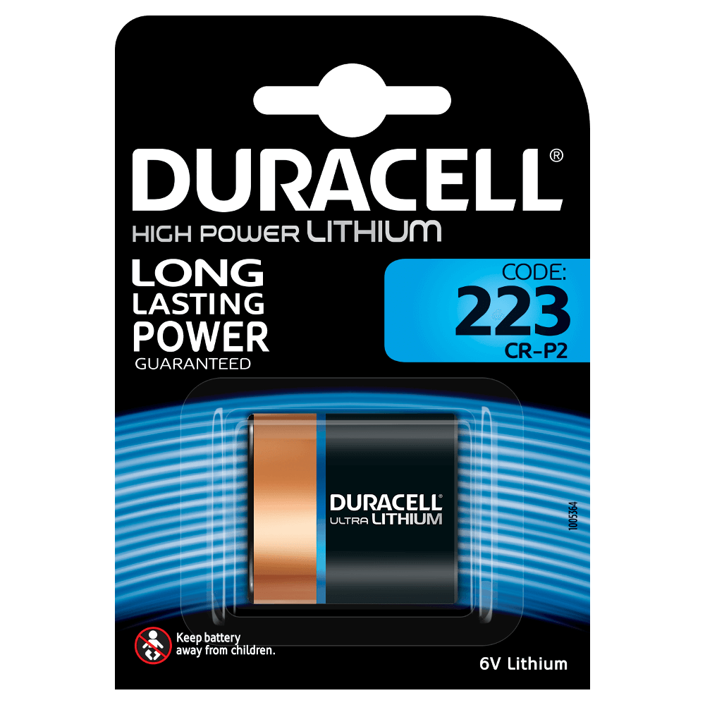 Specialty 223 Ultra Lithium Batteries Duracell