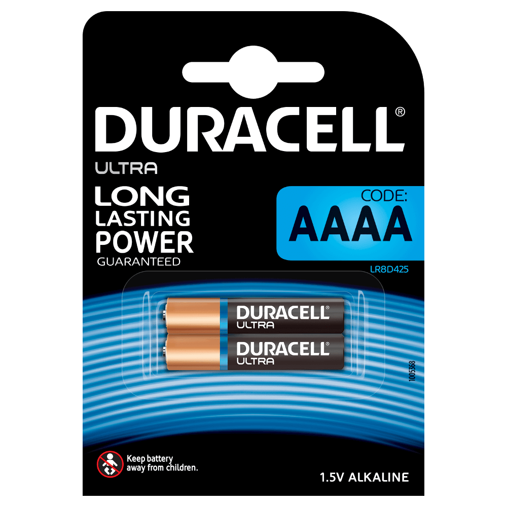 Specialty AAAA alkaline batteries - Duracell