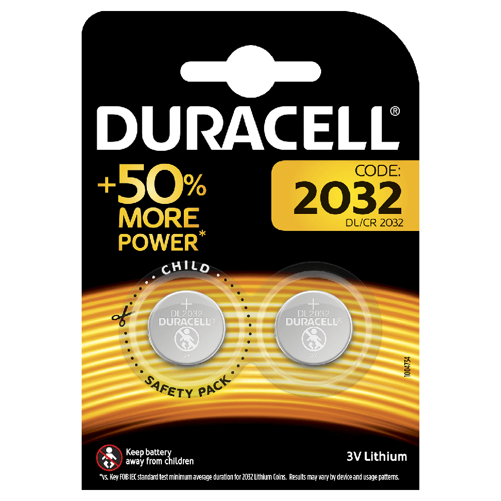 Specialty 2032 Lithium Coins Duracell