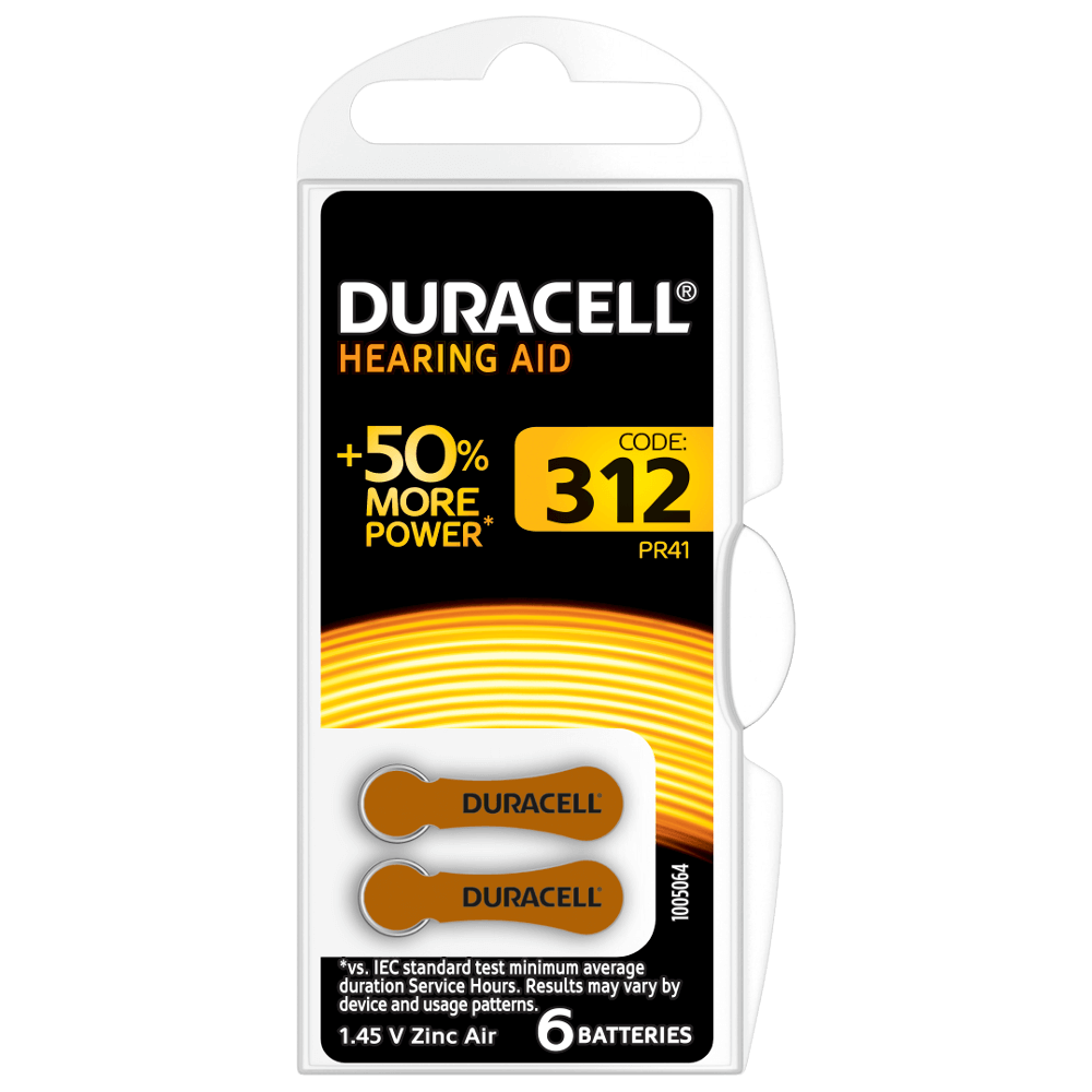 Duracell hearing aid batteries 312 coupons printable