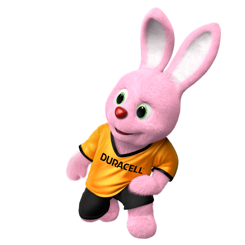 The Duracell Bunny introduces all product categories to you