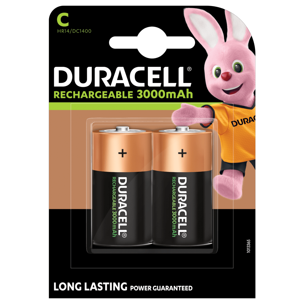 Rechargeable C Size 3000mah Batteries Duracell Ultra