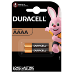 Duracell Specialty Alkaline AAAA size 1.5V Batteries in 2-piece pack