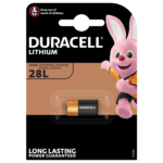 Duracell Specialty High Power Lithium 28L size 6V Battery