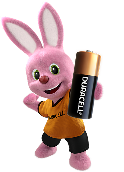 Bunny holding specialty alkaline N size 1.5V Battery