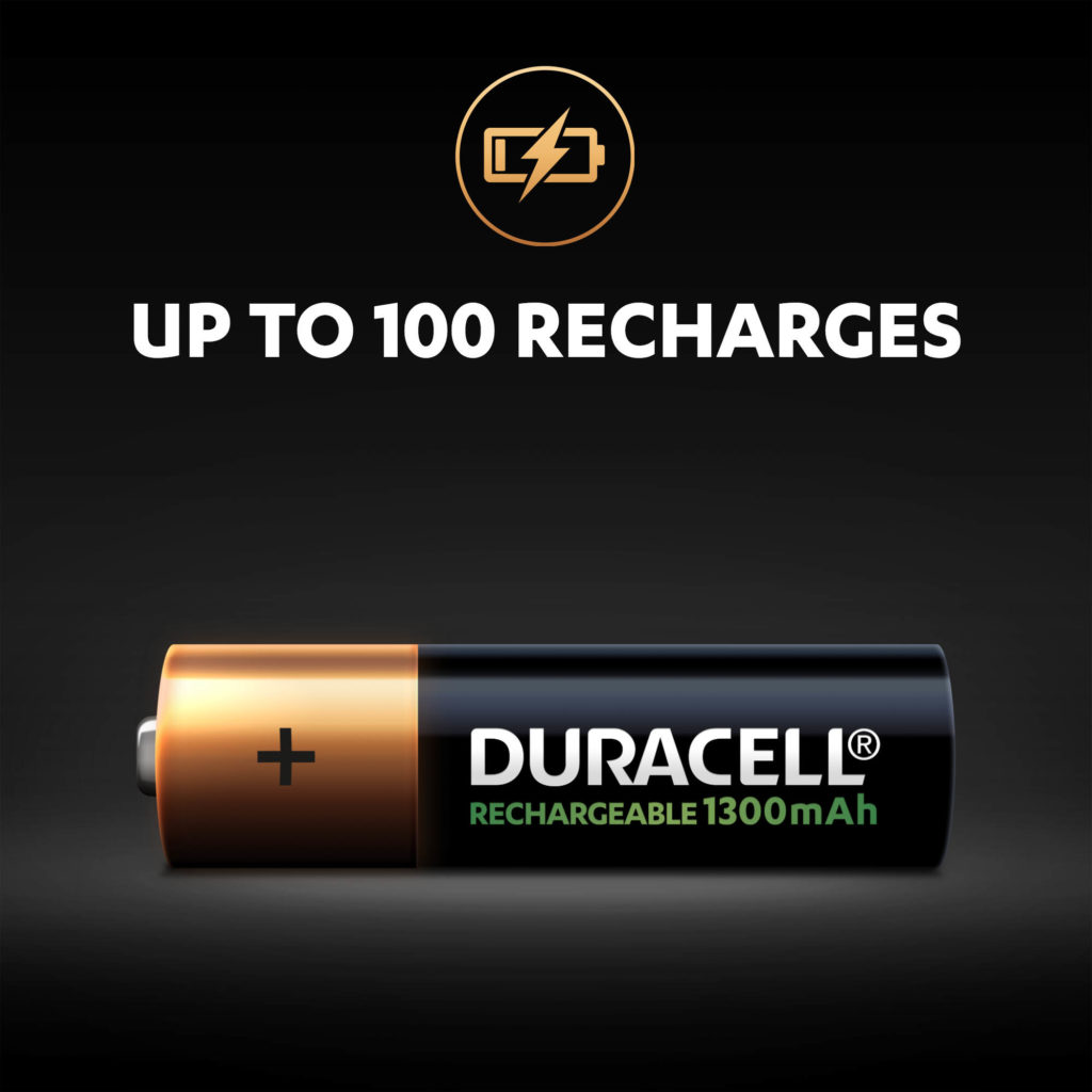 Up to 100 recharges illustration