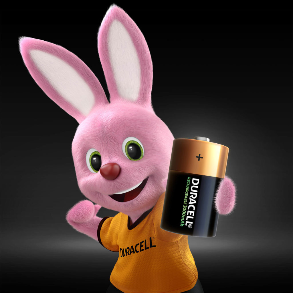 Bunny introducing D size Rechargeable battery 900mAh