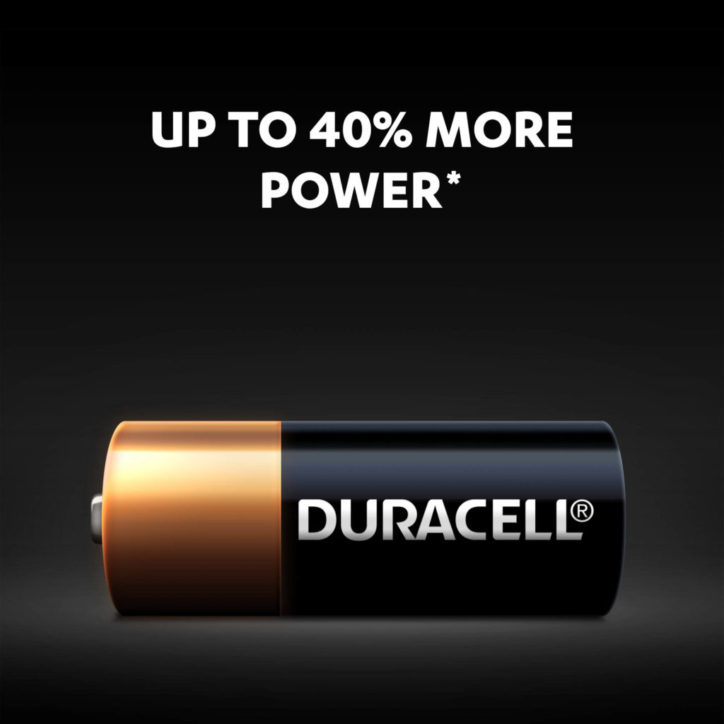 Up to 40% more power