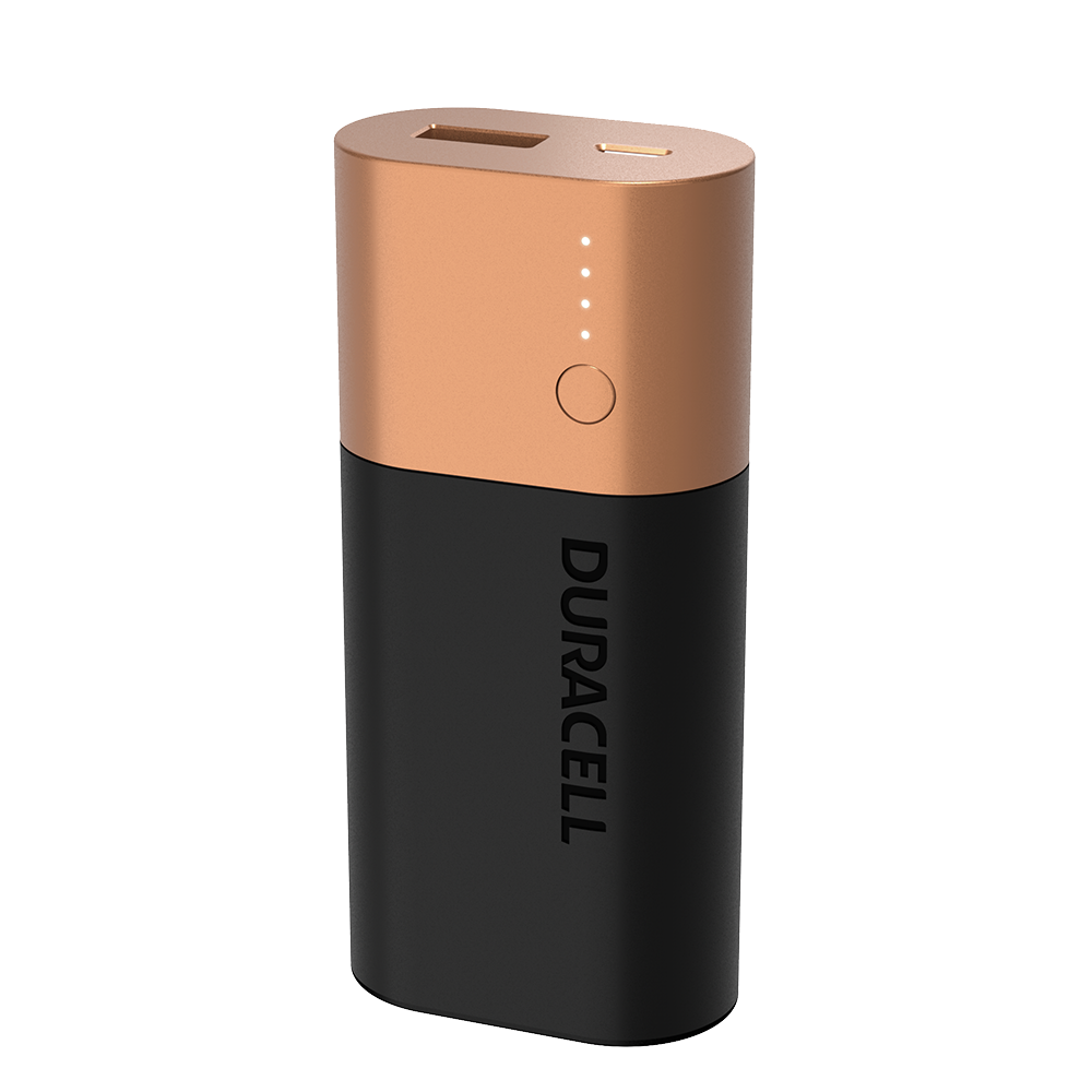 Duracell Power Bank 3350mAh on a white background