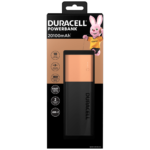 Duracell Rechargeable Powerbank 3350mAh for Apple, Android and most usb-powered devices
