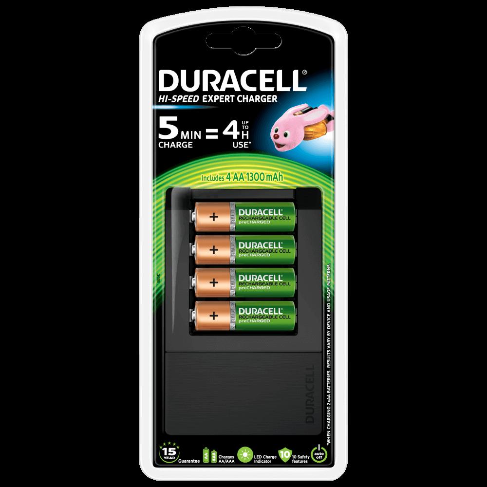 Prima Duracell Hi-Speed Expert Charger för AA & AAA-batterier YV-69